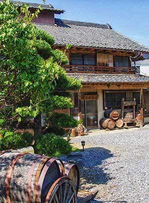 Eco Tours Japan winery and wine tasting tours in Katsunuma Yamanashi Japan